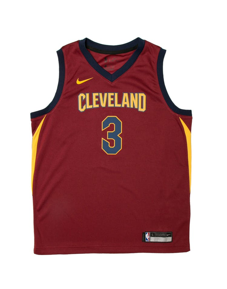 13f7785040a Isaiah Thomas  3 Nike Icon Edition Youth Swingman Jersey Burgundy – Culture  Kings