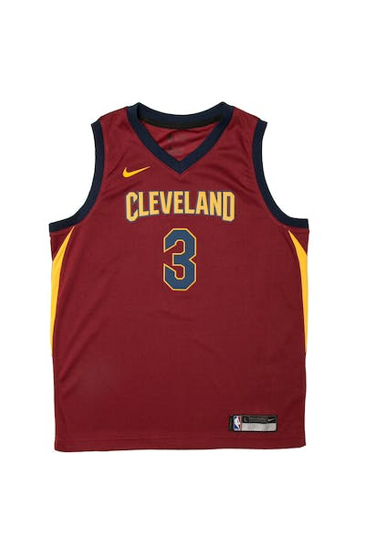 new arrivals 13efe 256e8 Isaiah Thomas  3 Nike Icon Edition Youth Swingman Jersey Burgundy ...