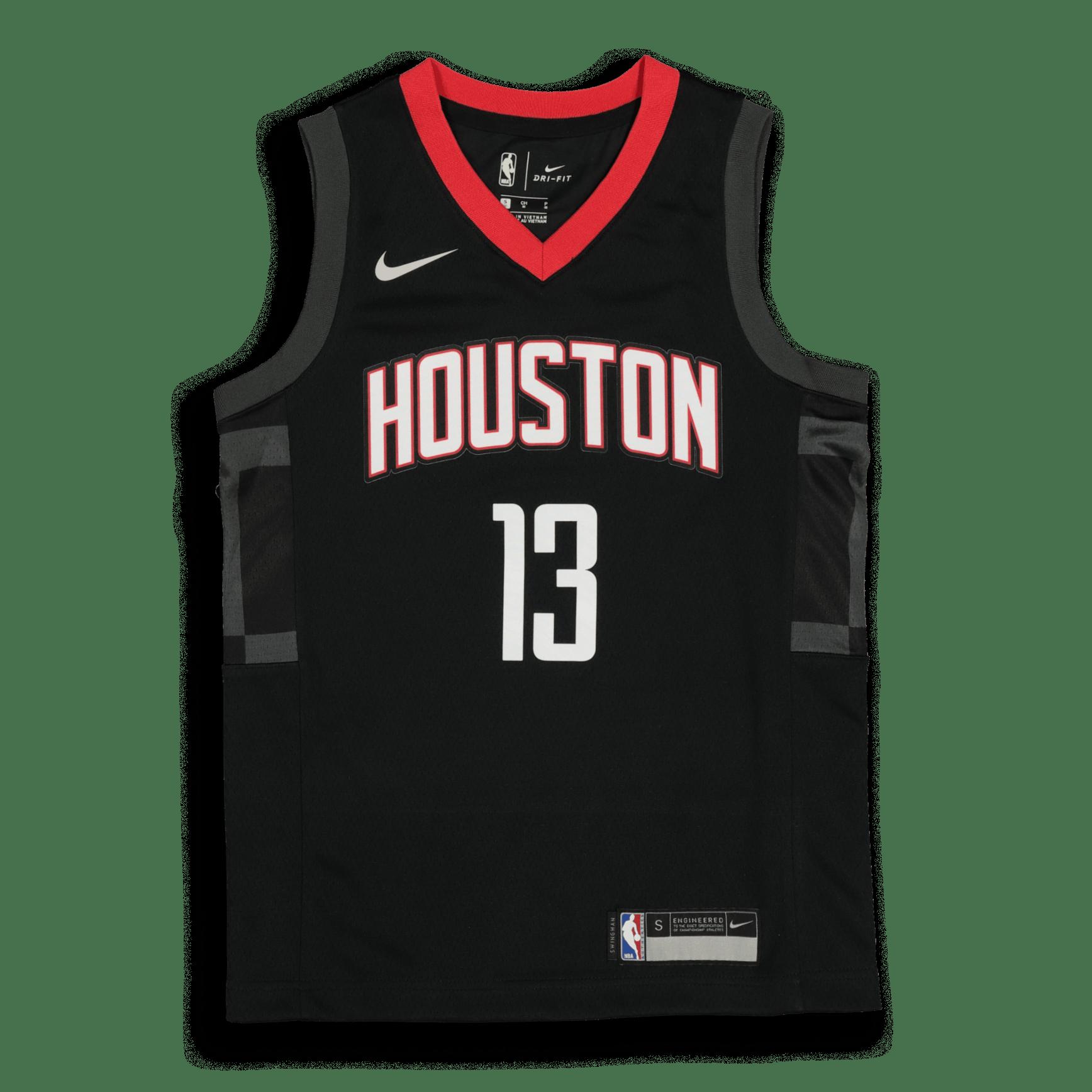 Kids Houston Rockets James Harden #13 Statement Swingman NBA Jersey Black