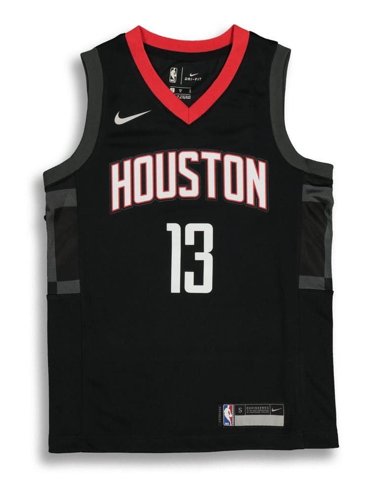 d29ccba0f Nike Kids Houston Rockets James Harden  13 Statement Swingman NBA Jers –  Culture Kings