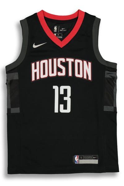 4b441494d Nike Kids Houston Rockets James Harden  13 Statement Swingman NBA Jersey  Black