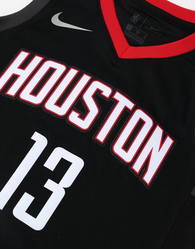 e6d811b02e4 Nike Kids Houston Rockets James Harden #13 Statement Swingman NBA Jers –  Culture Kings