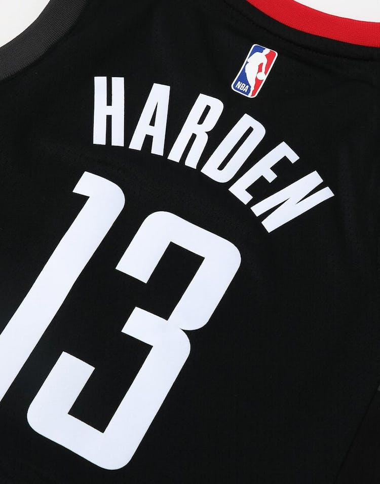 8104eee63 Nike Kids Houston Rockets James Harden  13 Statement Swingman NBA Jersey  Black