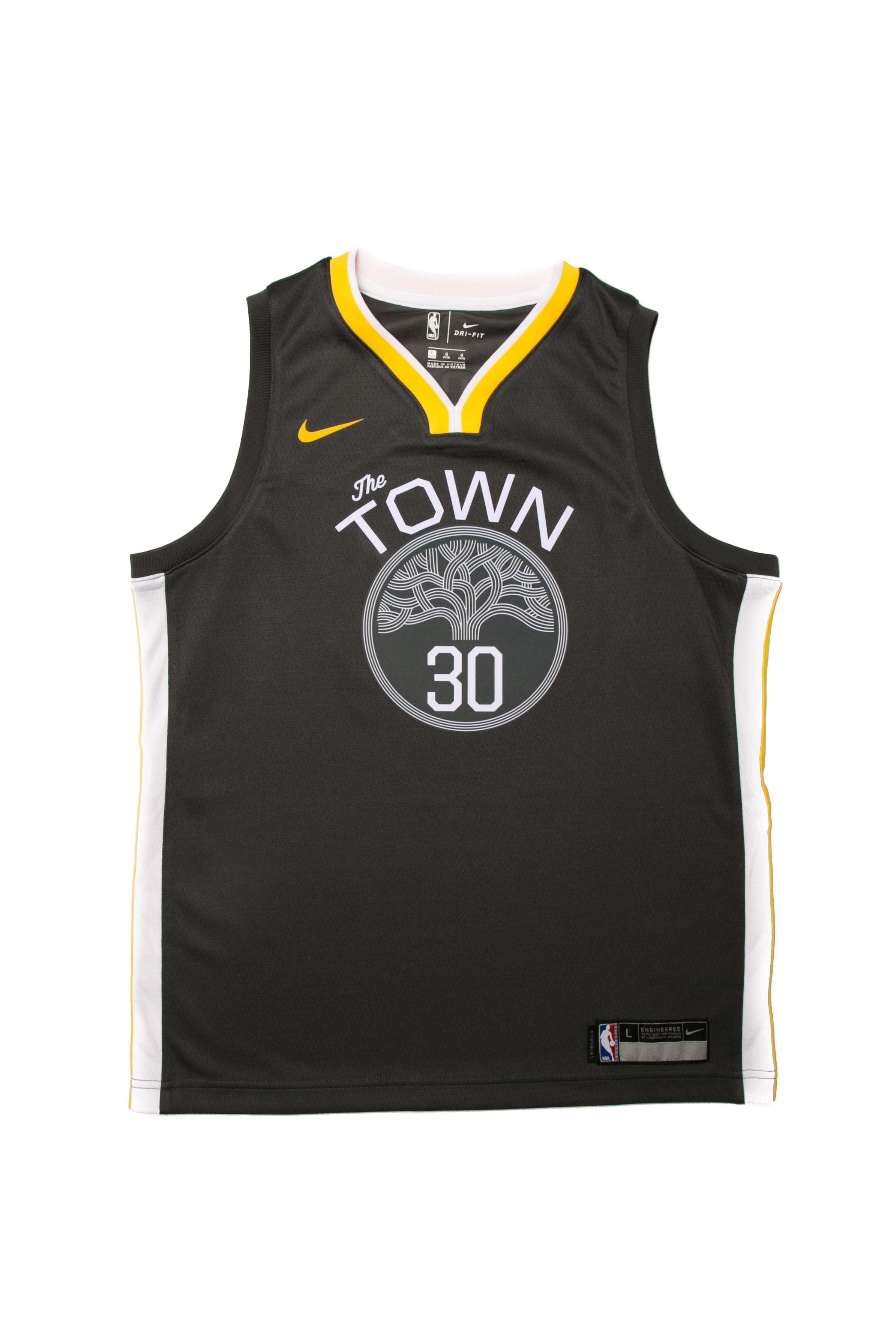 Stephen Curry #30 Nike Statement Edition Youth Swingman Jersey Black