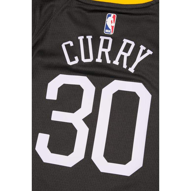 size 40 8df90 cccff Stephen Curry #30 Nike Statement Edition Youth Swingman Jersey Black