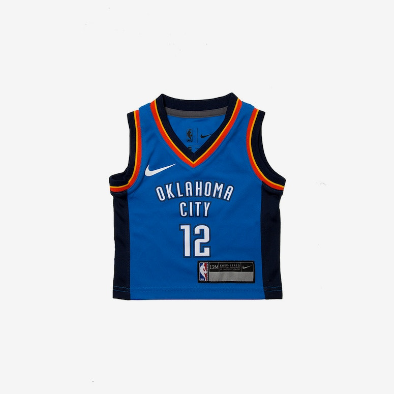 19e919dbc INFANT STEVEN ADAMS  12 GOLDEN OKLAHOMA CITY THUNDER NIKE REPLICA JERS –  Culture Kings