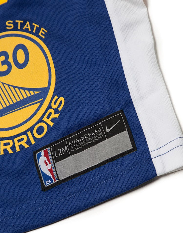 sale retailer 368a8 a003c INFANT STEPHEN CURRY #30 GOLDEN STATE WARRIORS NIKE REPLICA JERSEY ICON  EDITION BLUE