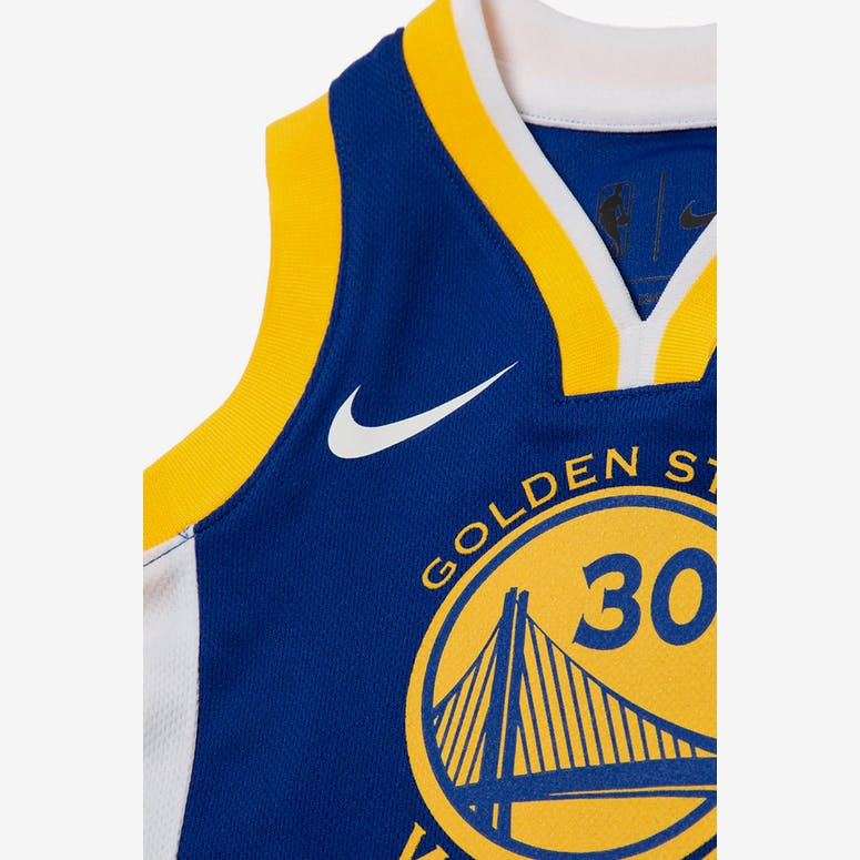 51f41f0fc INFANT STEPHEN CURRY  30 GOLDEN STATE WARRIORS NIKE REPLICA JERSEY ICON  EDITION BLUE