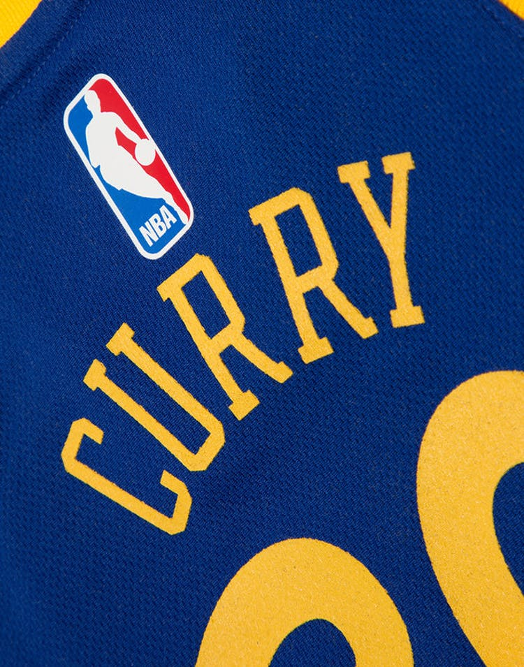 sale retailer fa239 6d9ef INFANT STEPHEN CURRY #30 GOLDEN STATE WARRIORS NIKE REPLICA JERSEY ICON  EDITION BLUE