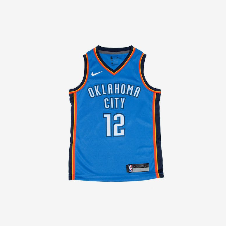 Steven Adams  12 Nike Icon Edition Youth Swingman Jersey Blue – Culture  Kings 065b8f74f