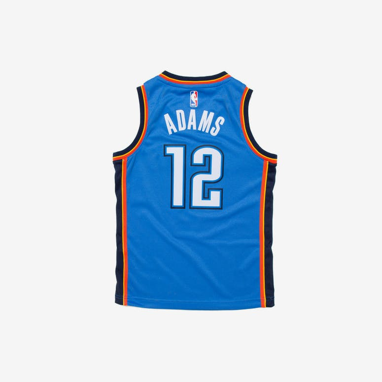 Steven Adams  12 Nike Icon Edition Youth Swingman Jersey Blue ... 37bcc9f3d