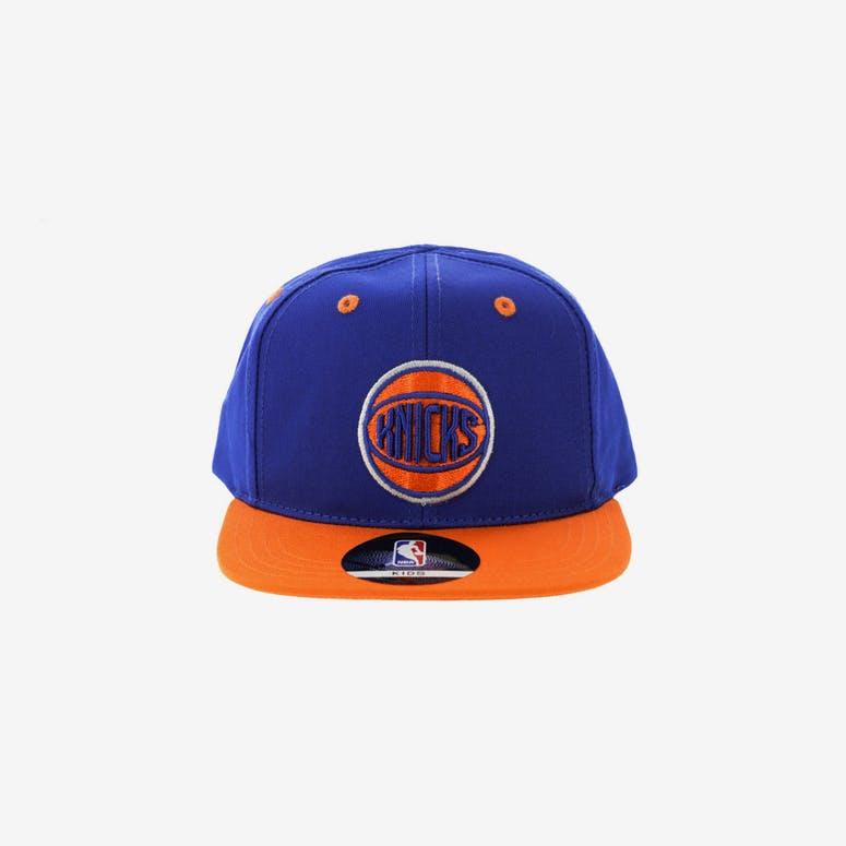 NBA New York Knicks 2-Tone Flat Brim Kids Snapback Blue Orange – Culture  Kings 5fa98f70329