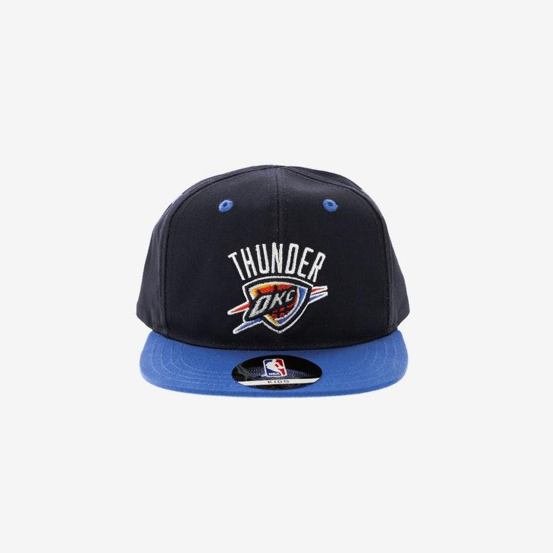 NBA Oklahoma City Thunder 2-Tone Flat Brim Kids Snapback Navy Blue –  Culture Kings 313b9936d644