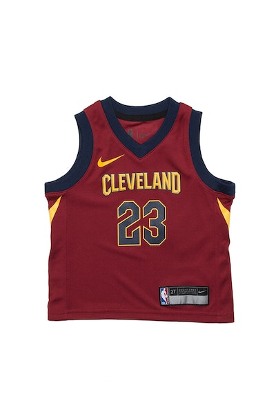 Toddler LeBron James  23 Cleveland Cavaliers Nike Replica Jersey Icon  Edition Burgundy 746661043