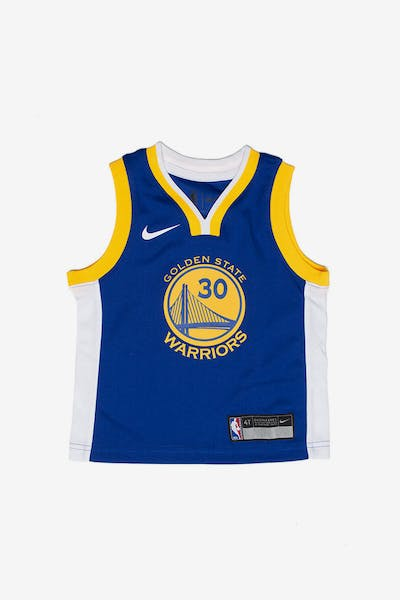 Kids. Toddler Stephen Curry  30 Golden State Warriors Nike Replica Jersey  Icon Edition Blue 6bca4bfb3