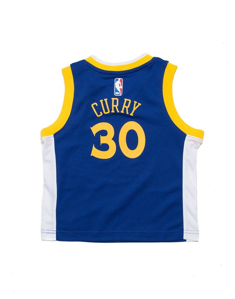 pretty nice 8e06d d22e1 Toddler Stephen Curry #30 Golden State Warriors Nike Replica Jersey Icon  Edition Blue
