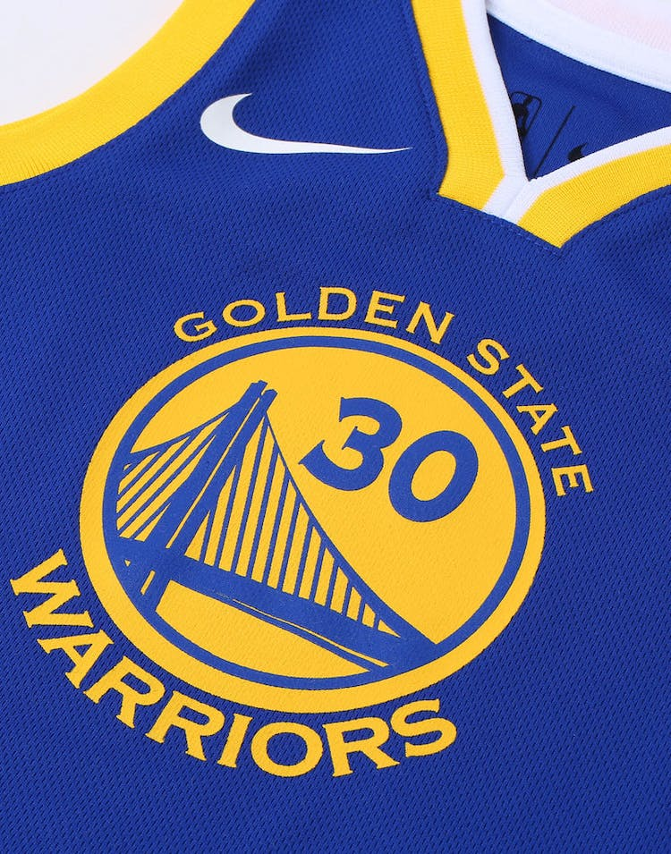 pretty nice 59296 73dc1 Toddler Stephen Curry #30 Golden State Warriors Nike Replica Jersey Icon  Edition Blue