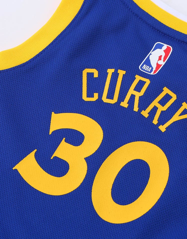 pretty nice 2d30b d9770 Toddler Stephen Curry #30 Golden State Warriors Nike Replica Jersey Icon  Edition Blue