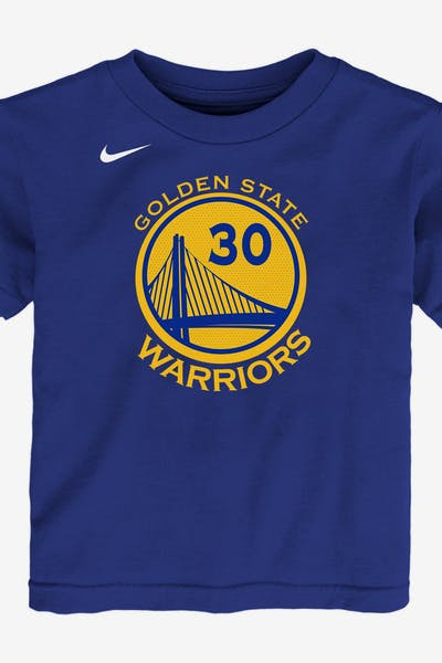5cecc897dca Nike Toddler Golden State Warriors Stephen Curry  30 Icon N N Tee Blue
