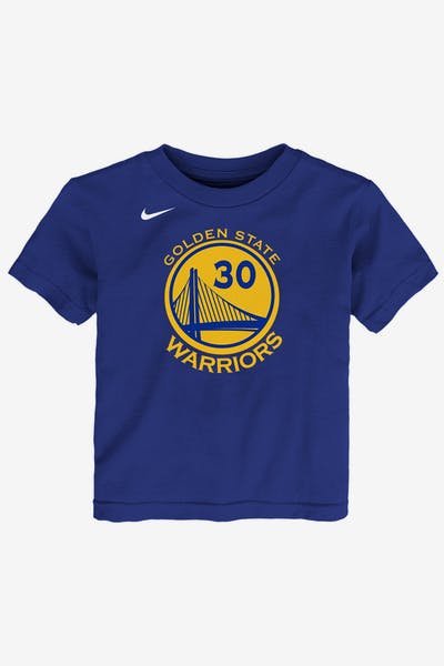 Nike Toddler Golden State Warriors Stephen Curry  30 Icon N N Tee Blue a4e3ec595