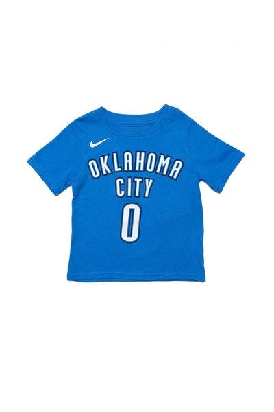 Toddler Russell Westbrook  0 Oklahoma City Thunder Nike Icon N N Tee Blue ff6cef20b