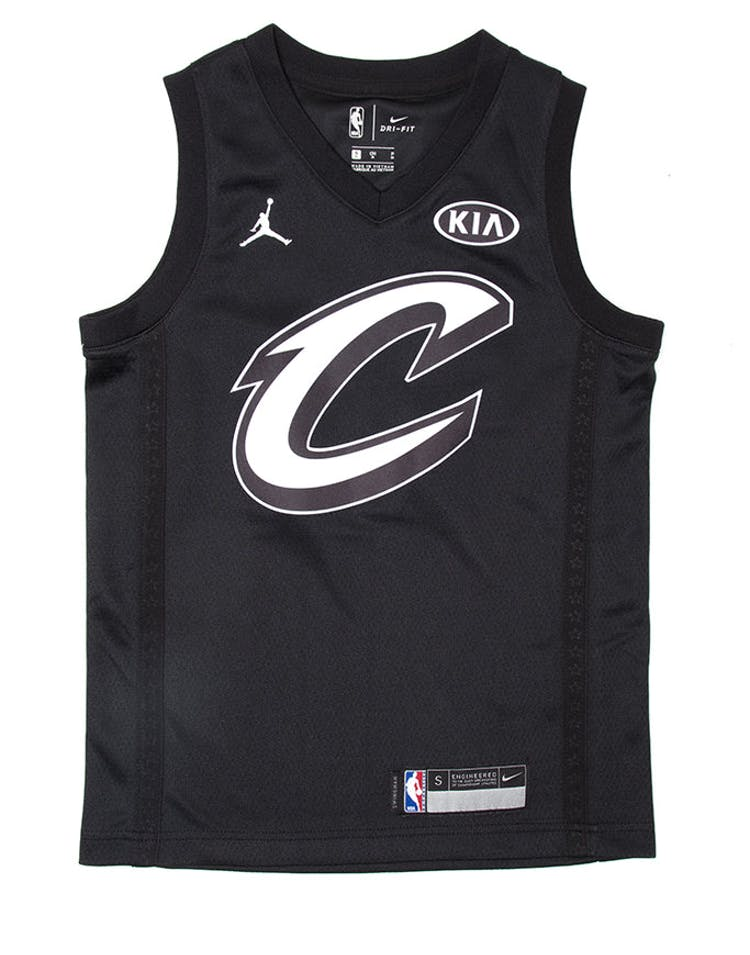 a27789d5942b8 Nike LeBron James #23 All-Star Kids Jersey Black