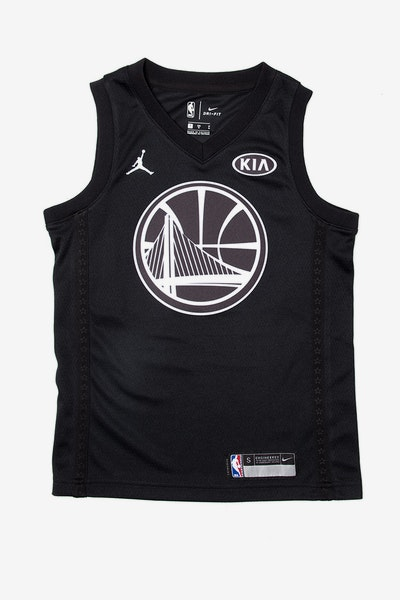 Nike Stephen Curry #30 All-Star Kids Jersey Black