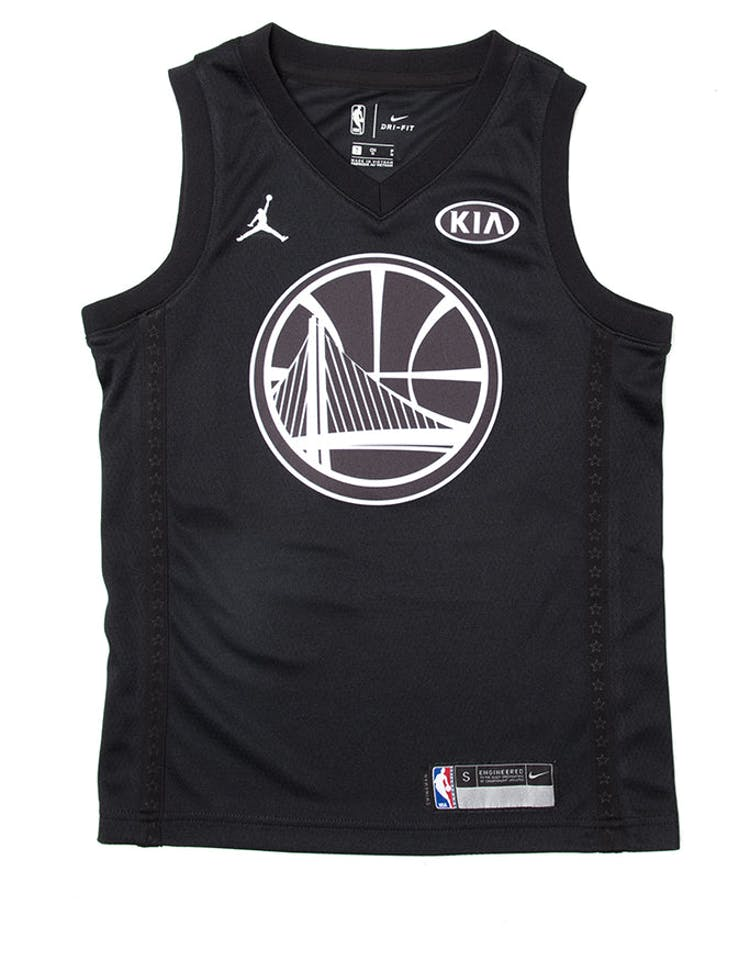6fbb9a22504 Nike Stephen Curry #30 All-Star Kids Jersey Black – Culture Kings