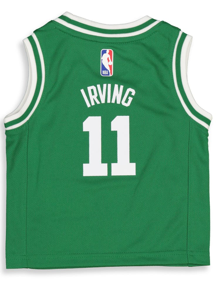 official photos d52c9 a99fe Nike Infant Boston Celtics Kyrie Irving #11 Icon Replica NBA Jersey Green