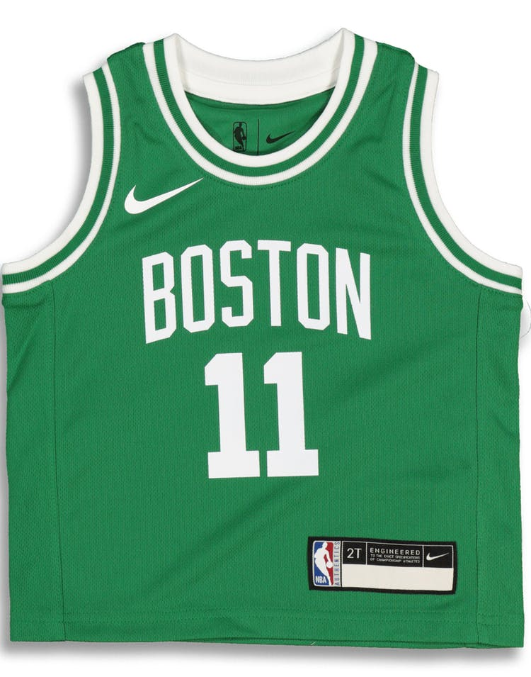 the best attitude f26f3 2d044 Nike Toddler Boston Celtics Kyrie Irving #11 Icon Replica NBA Jersey Green