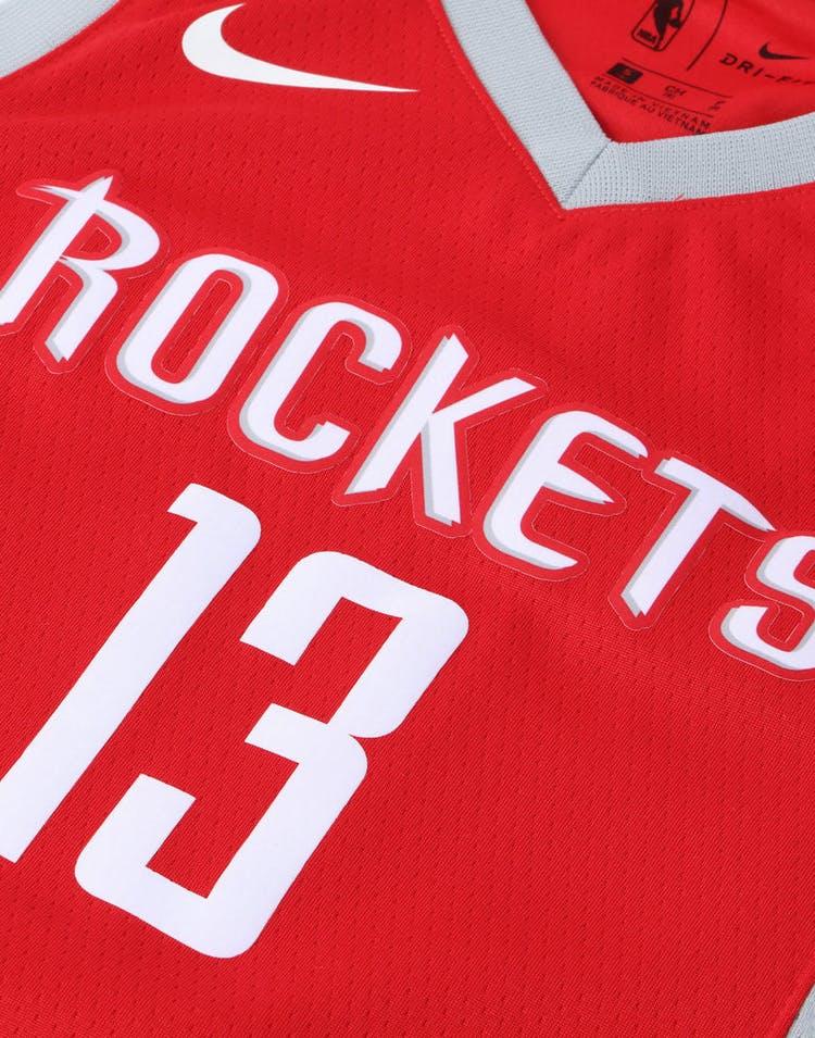 big sale 23508 d3742 Nike Kids Houston Rockets James Harden #13 Icon Swingman NBA Jersey Red
