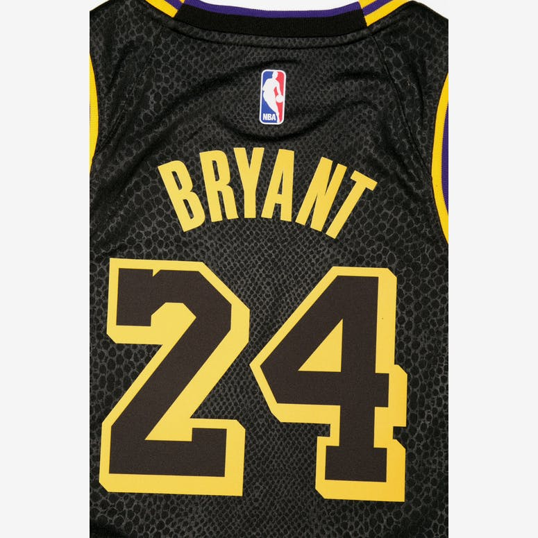 Kobe Bryant  24 Nike City Edition Youth Swingman Jersey Black ... 8f4017d20