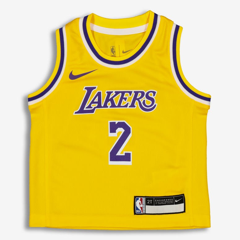 c1227b0fbc Nike Toddler Los Angeles Lakers Lonzo Ball  2 Icon Replica NBA Jersey –  Culture Kings