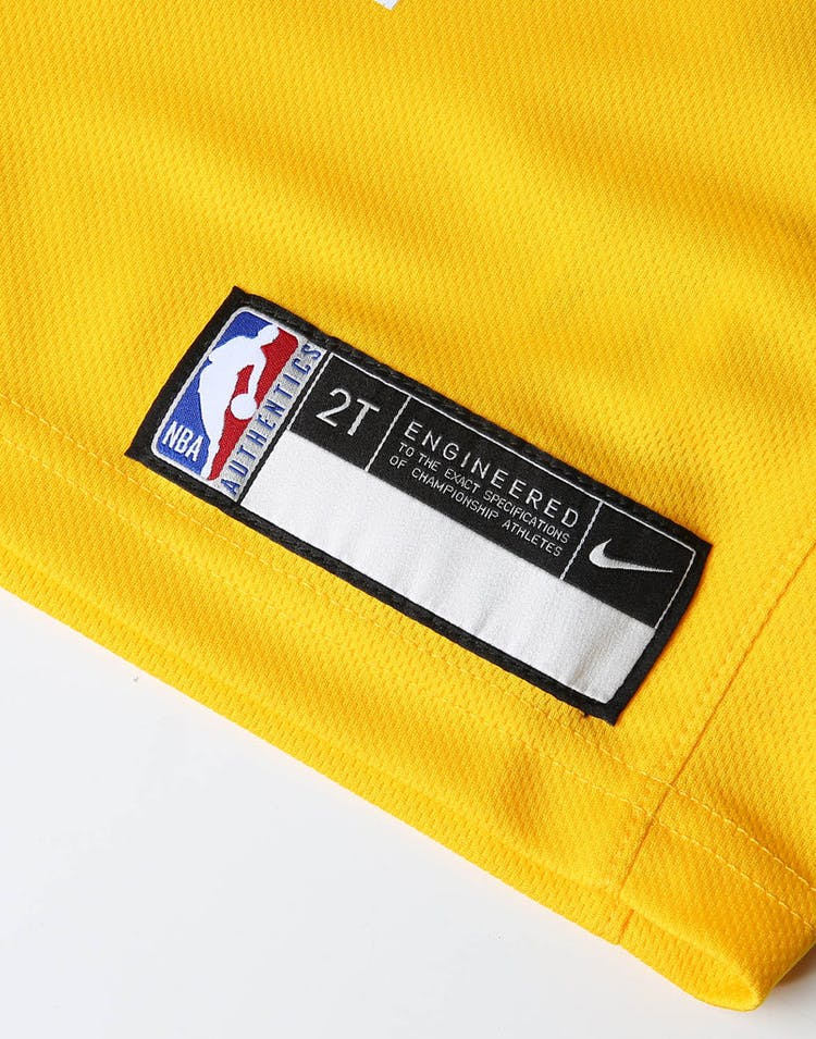 3d2d04fc87f Nike Toddler Los Angeles Lakers Lonzo Ball #2 Icon Replica NBA Jersey Yellow