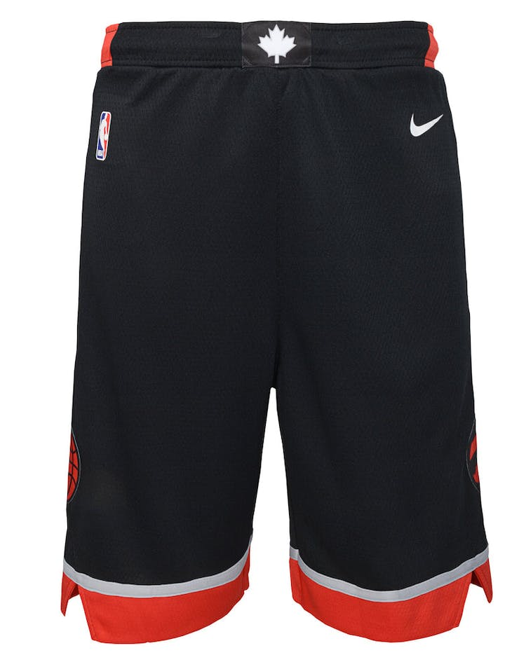 super popular b5ef9 a5b3f Nike Kids Toronto Raptors Statement Swingman Short Black