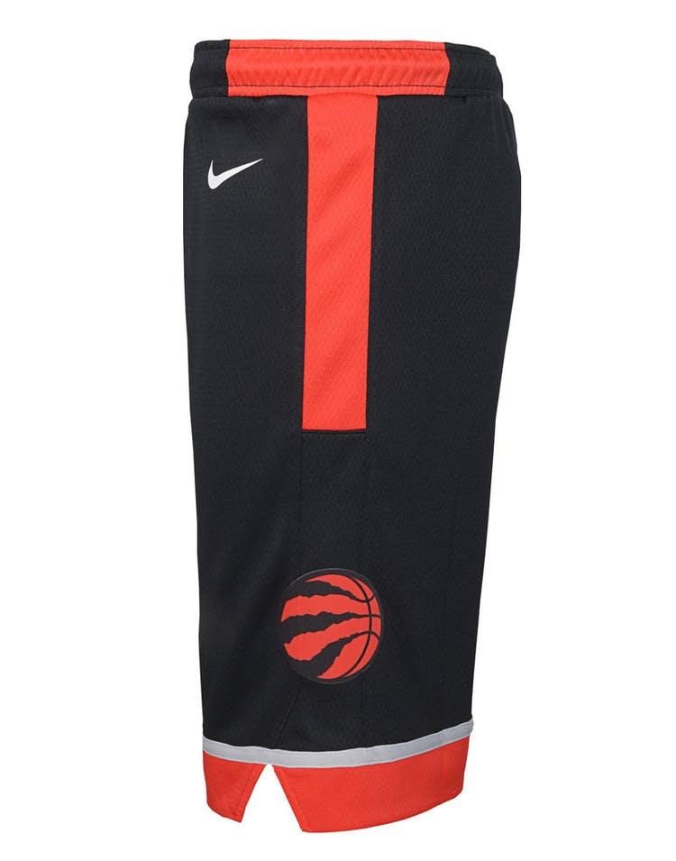super popular 1cefa 719af Nike Kids Toronto Raptors Statement Swingman Short Black
