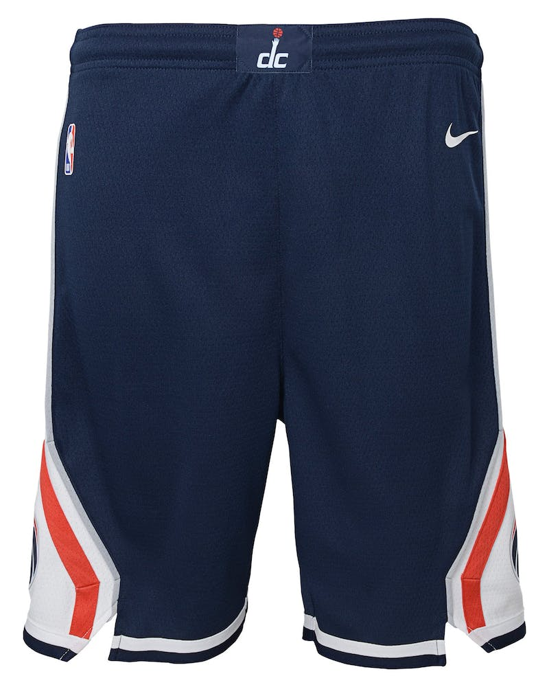 Nike Kids Washington Wizards Statement Swingman Short Navy