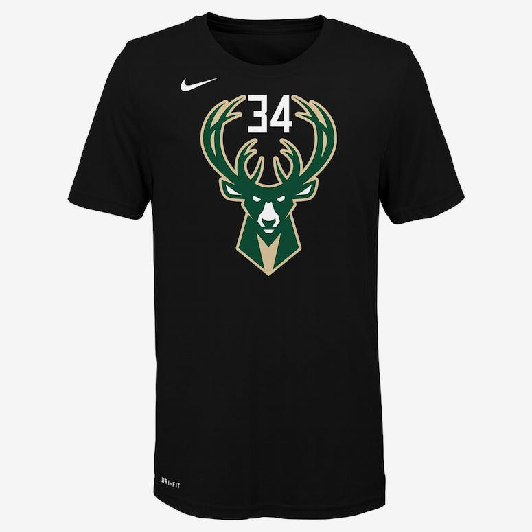 Nike Boys Milwaukee Bucks Giannis Antetokounmpo  34 Statement N N Tee –  Culture Kings 3f9859e98