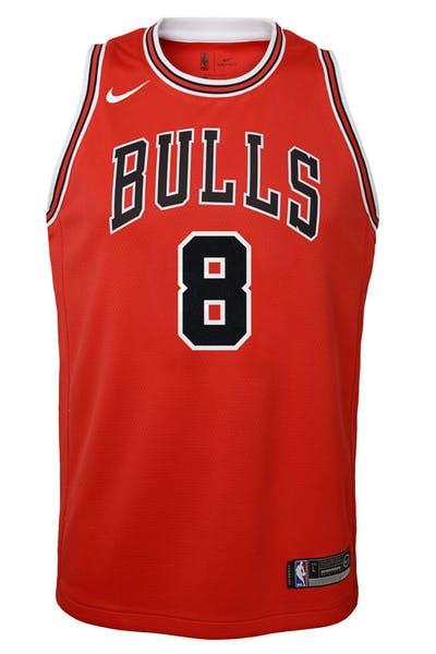 4c26e1a7521 Nike Kids Chicago Bulls Zach LaVine #8 Icon Swingman NBA Jersey Red