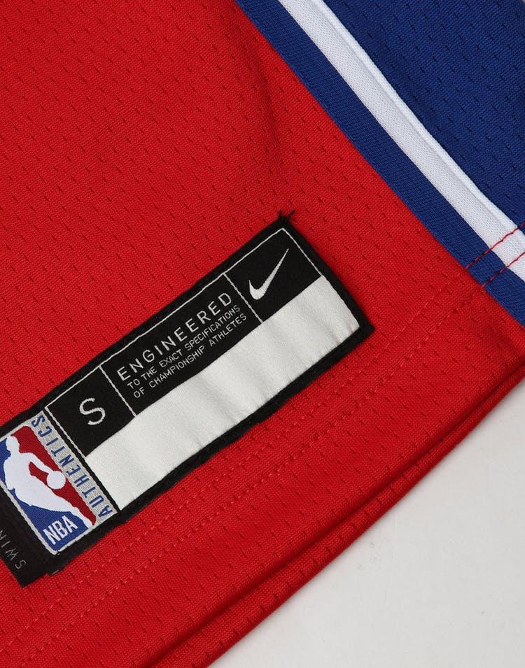 3ff21262d0a Nike Kids Philadelphia 76ers Ben Simmons  25 Statement Swingman NBA Jersey  Red