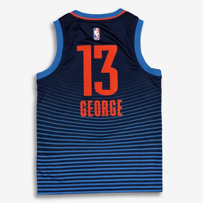 dc0c6e30fb4 Nike Kids Oklahoma City Thunder Paul George  13 Statement Swingman NBA –  Culture Kings