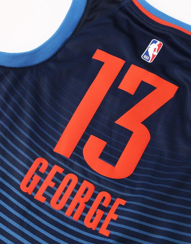 80f982d4b997 Nike Kids Oklahoma City Thunder Paul George  13 Statement Swingman NBA  Jersey Navy