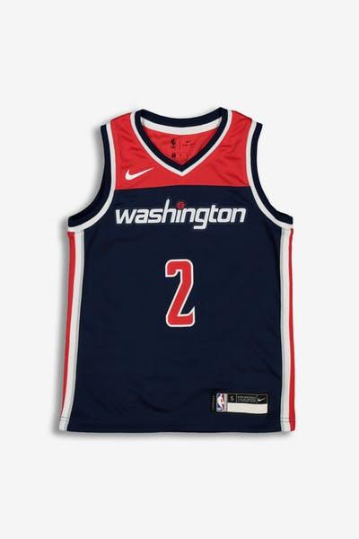 502b06703 Nike Kids Washington Wizards John Wall  2 Statement Swingman NBA Jersey Navy