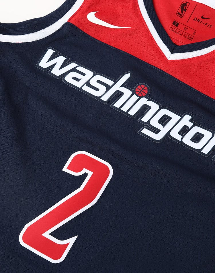 ccdde1b0aa0 Nike Kids Washington Wizards John Wall  2 Statement Swingman NBA Jersey Navy