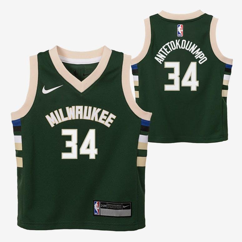 Nike Infant Milwaukee Bucks Giannis Antetokounmpo  34 Icon Replica NBA –  Culture Kings 73c7b5fe6