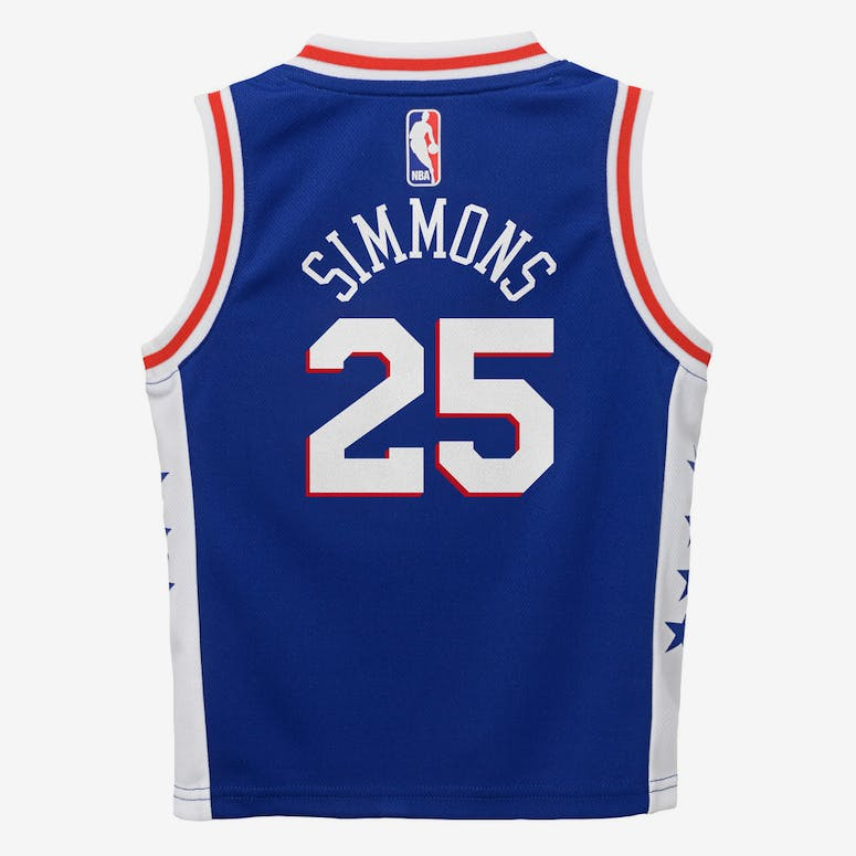 Nike Toddler Philadelphia 76ers Ben Simmons #25 Icon Replica NBA Jersey Blue