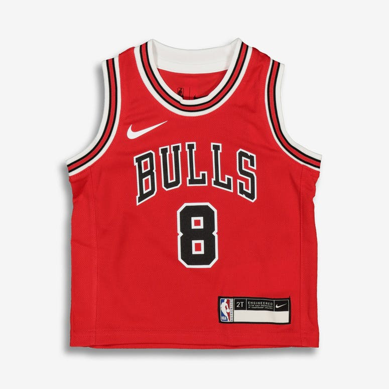 Nike Toddler Chicago Bulls Zach LaVine  8 Icon Replica NBA Jersey Red –  Culture Kings 95da3e38f