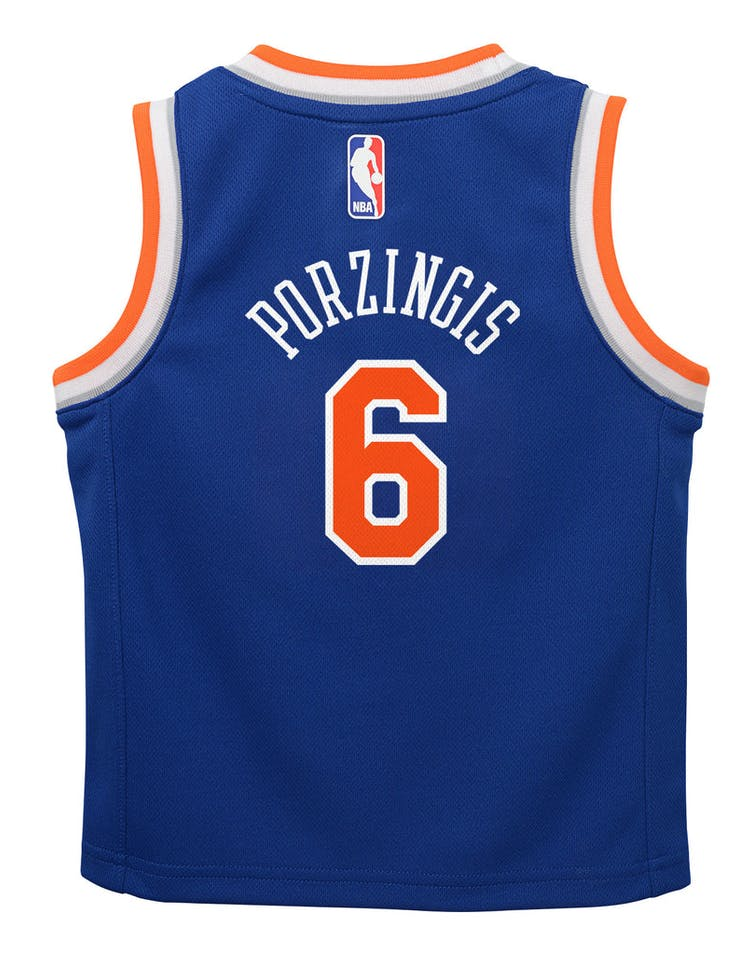 new style d56f7 60d99 Nike Toddler New York Yankees Kristaps Porziņģis  6 Icon Replica NBA Jersey  Royal