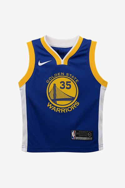 Nike Toddler Golden State Warriors Kevin Durant  35 Icon Replica NBA Jersey  Royal eea2a5ec0398