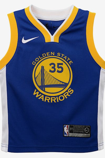 cd14bf1e6637 Nike Toddler Golden State Warriors Kevin Durant  35 Icon Replica NBA Jersey  Royal